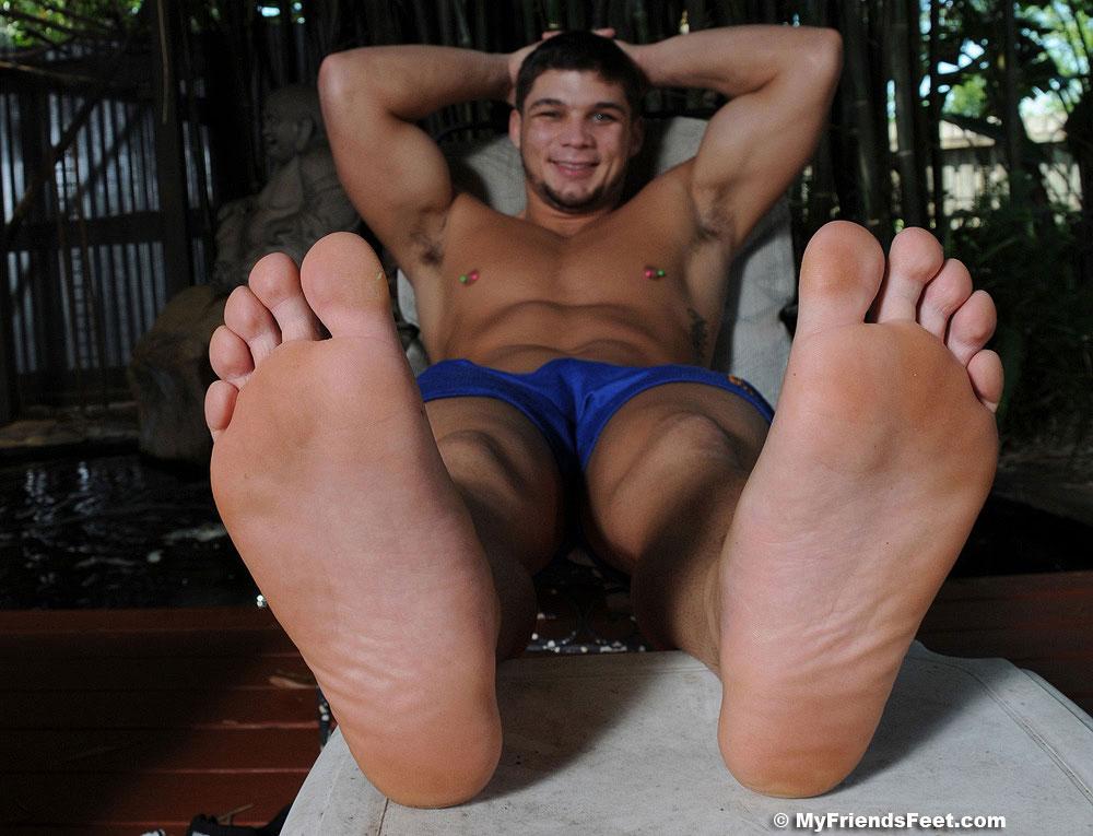 mens feet image - male foot