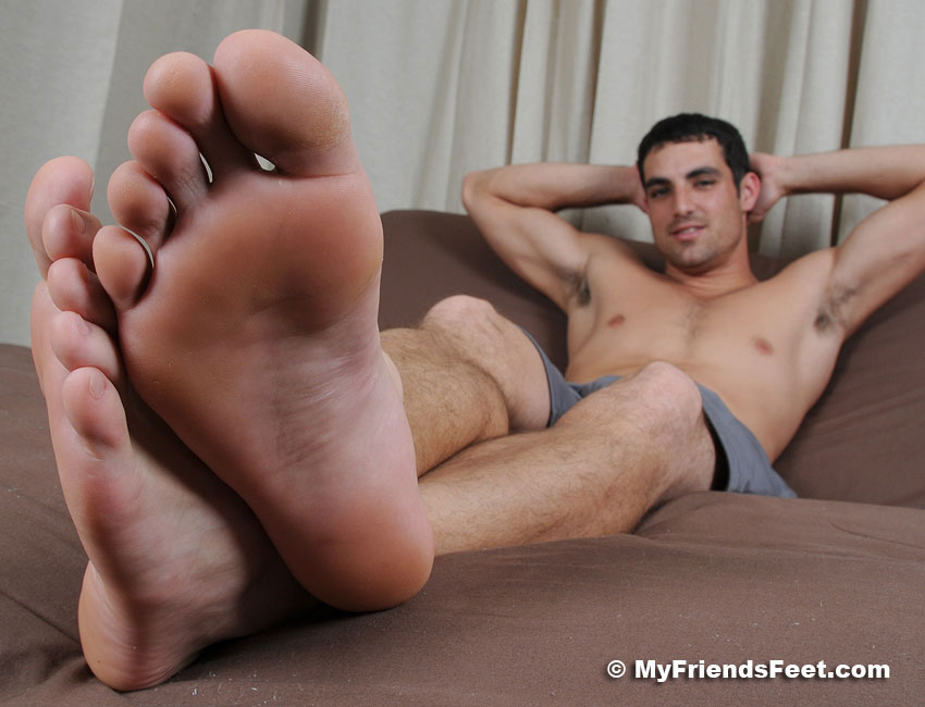 Male feet worship videos