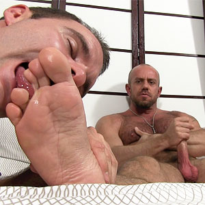 sock male foot feet worship