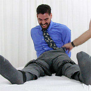 gay male tickling